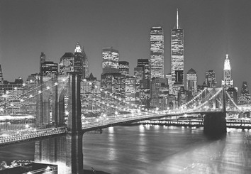 Фотообои на стену: BROOKLIN  BRIDGE